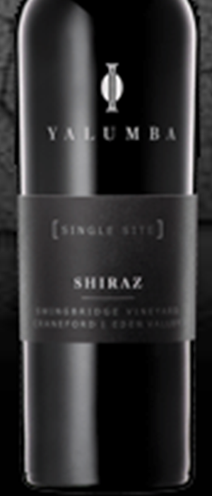 Single Site Swingbridge Vineyard Craneford Eden Valley Shiraz Bottle