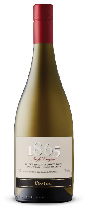 San Pedro 1865 Single Vineyard 2015 Sauvignon Blanc Bottle
