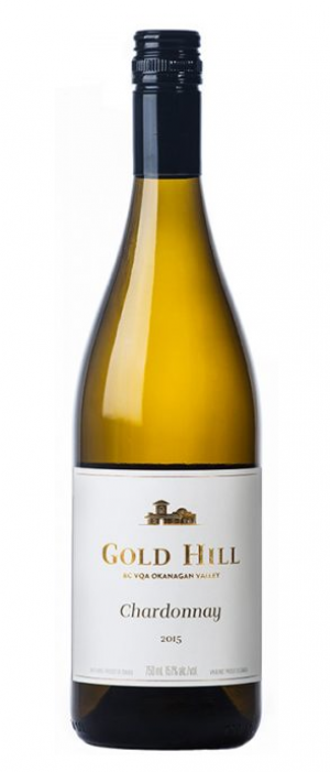 Gold Hill 2015 Chardonnay Bottle