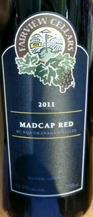 Madcap Red Bottle