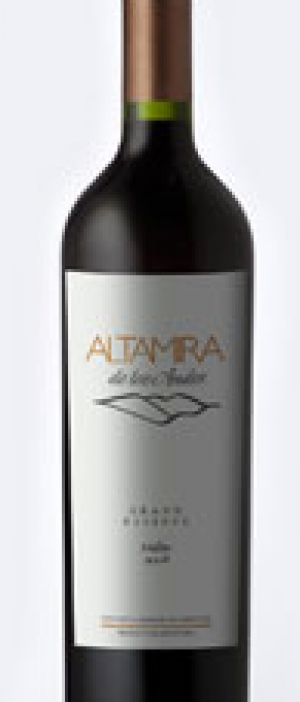 Altamira de los Andes Navigato Grand Reserve Bottle