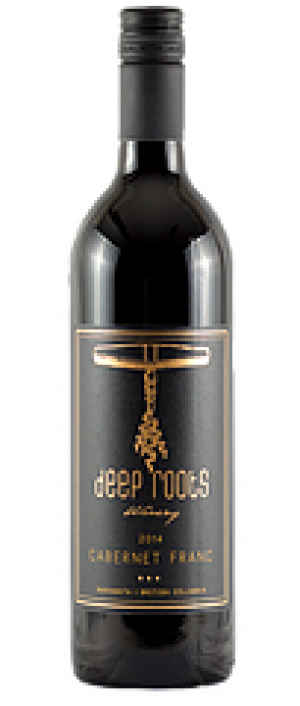 Deep Roots Winery 2016 Cabernet Franc Bottle