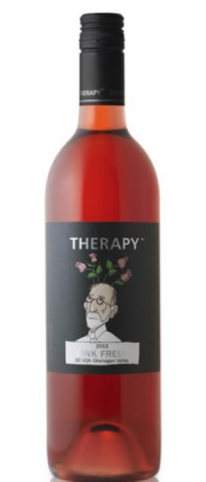 Therapy Vineyards 2017 Pink Freud Bottle