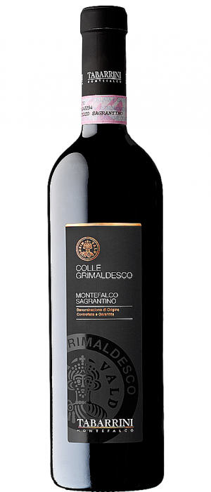 Tabarrini Colle Grimaldesco Sagrantino 2012 Bottle