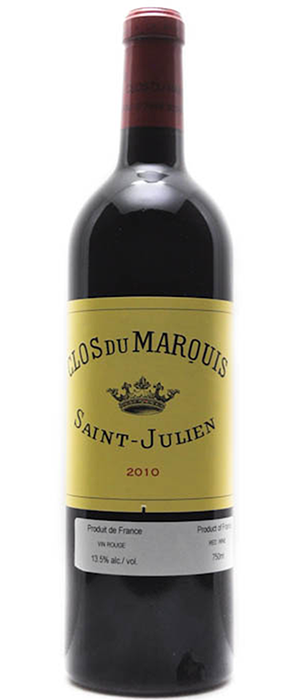 Les Domaines Delon Red Bordeaux Bottle