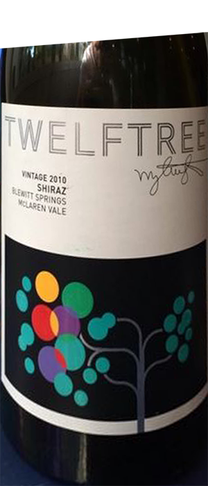 Twelftree Single Vineyard Bottle
