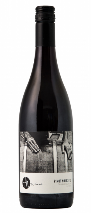 TH Wines 2015 Pinot Noir Bottle