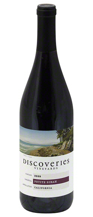 Discoveries Vineyards 2009 Petite Sirah Bottle