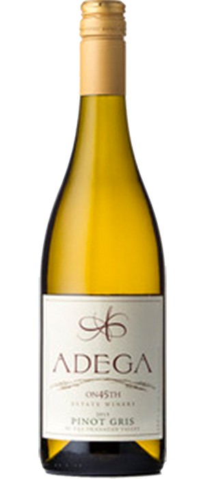Adega on 45th Estate Winery 2013 Pinot Gris (Grigio) Bottle