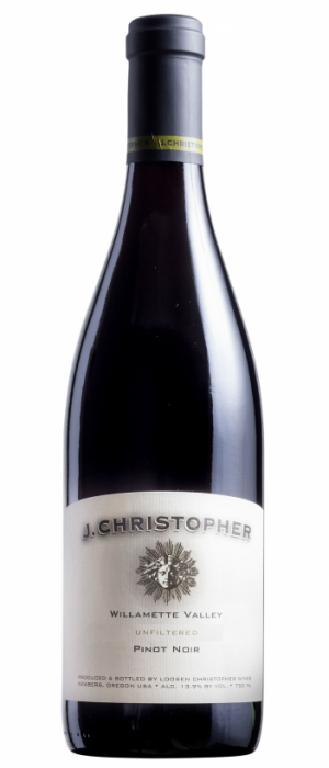 J Christopher 2014 Willamette Valley Pinot Noir  Bottle