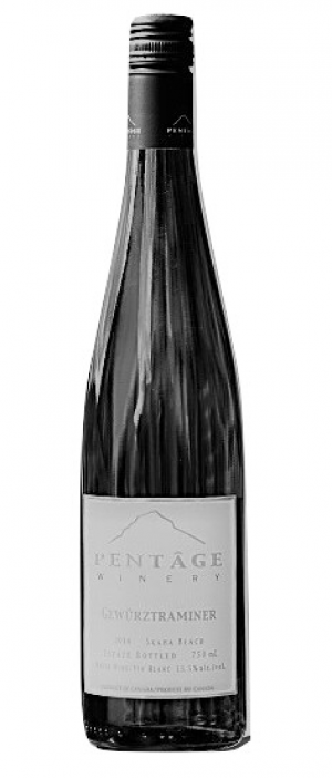 Pentâge Winery 2015 Gewürztraminer Bottle