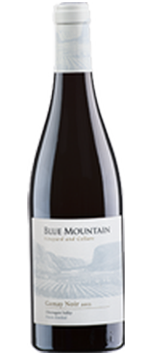 Blue Mountain Vineyard and Cellars 2013 Gamay Noir Bottle