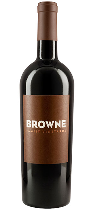Browne Family Vineyards 2011 Cabernet Sauvignon Bottle