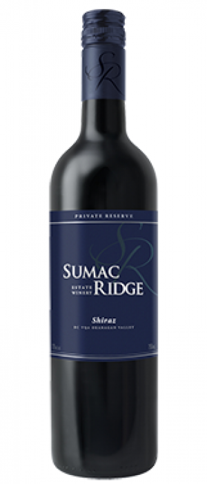 Sumac Ridge Estate Winery 2013 Shiraz (Syrah) | Red Wine