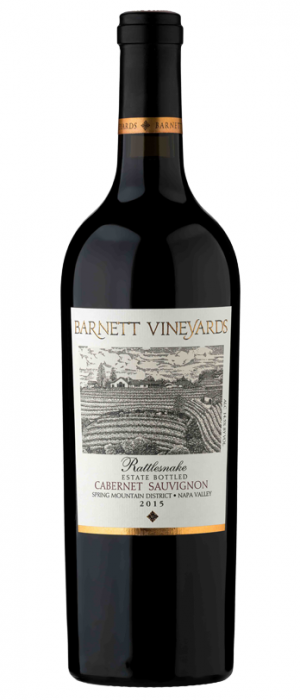 Barnett Vineyards 2015 Rattlesnake Cabernet Sauvignon | Red Wine