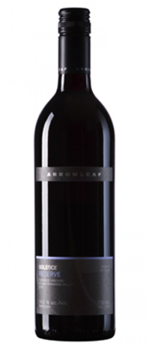 Arrowleaf Cellars 2015 Solstice Reserve Bottle