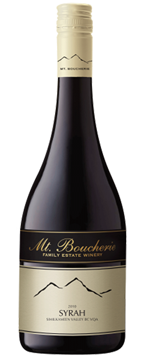 Mt. Boucherie Winery 2010 Syrah (Shiraz) Bottle