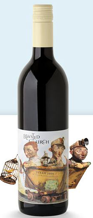 Blasted Church Vineyards 2008 Syrah (Shiraz) Bottle