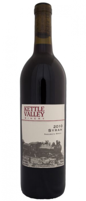 Kettle Valley Winery 2010 Syrah (Shiraz) Bottle