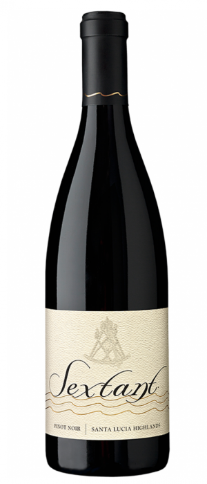 Sextant Wines 2015 Pinot Noir, Santa Lucia Highlands Bottle