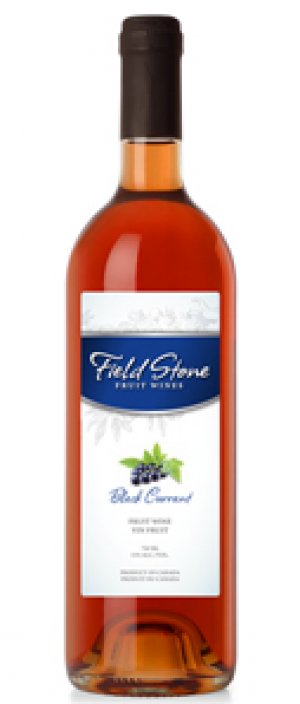 Field Stone Fruit Wines Blackcurrant Bottle