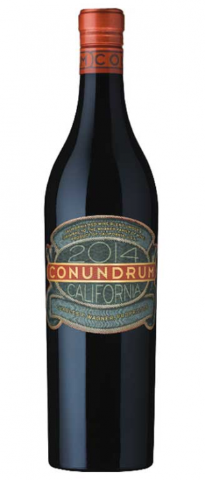 Conundrum 2014 California Red Wine Blend Bottle