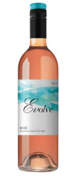 Evolve Cellars 2017 Roses Bottle