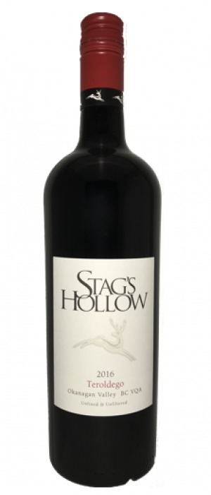 Stag's Hollow 2016 Teroldego Bottle