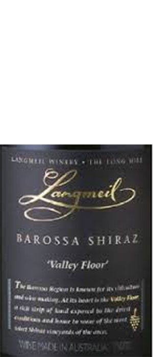 Langmeil Winery 2011 Syrah (Shiraz) Bottle