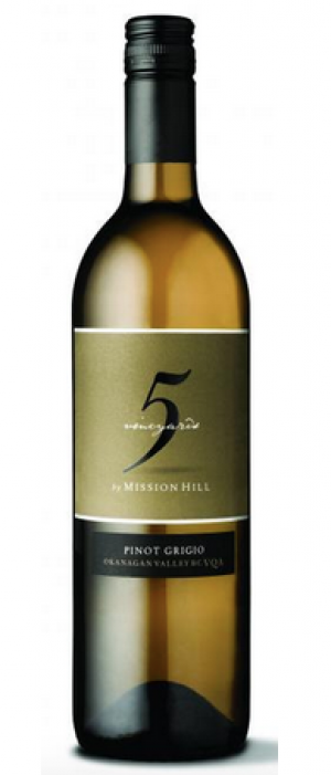 Mission Hill Five Vineyards 2016 Pinot Grigio Bottle