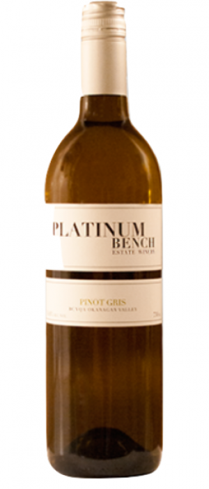 Platinum Bench Estate Winery & Artisan Bread Co. 2015 Pinot Gris (Grigio) Bottle