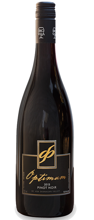 Optimum 2013 Pinot Noir Bottle