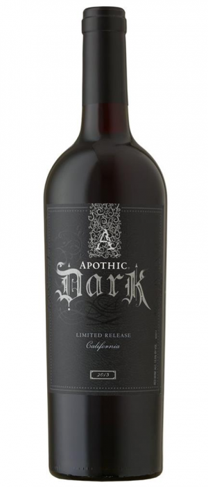 Apothic Dark Bottle