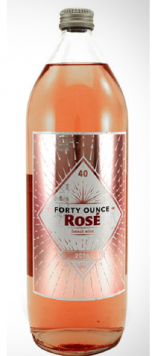 Forty Ounce2016  Rosé Bottle