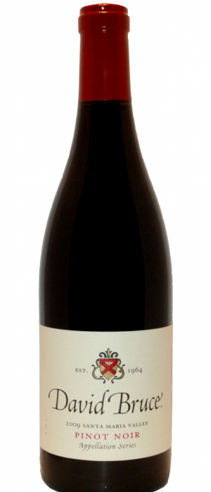 David Bruce Winery 2012 Pinot Noir Bottle