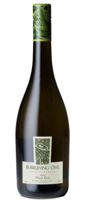 Burrowing Owl Estate Winery 2014 Pinot Gris (Grigio) | White Wine