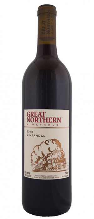 Kettle Valley Winery 2014 Great Northern Vineyard Zinfandel Bottle
