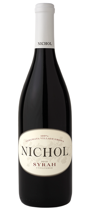 Nichol Vineyard 2012 Syrah (Shiraz) Bottle