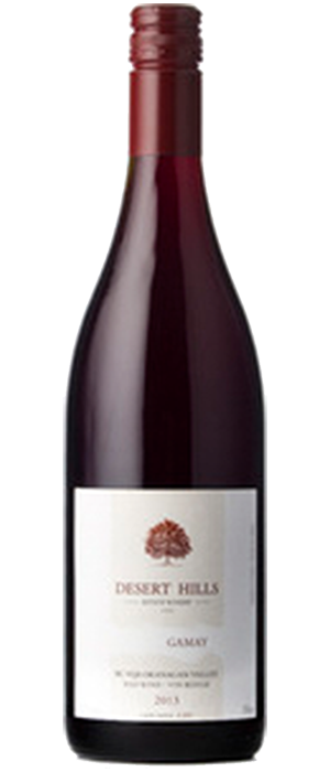 Desert Hills Estate Winery 2013 Gamay Noir Bottle