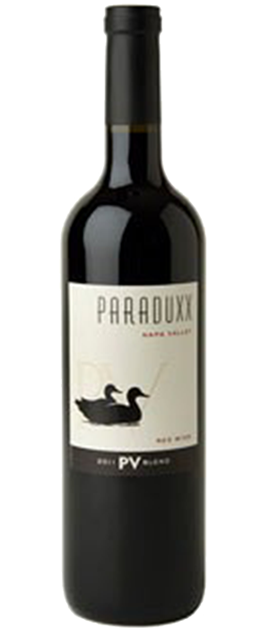 Paraduxx PV Blend Napa Valley Red Wine Bottle