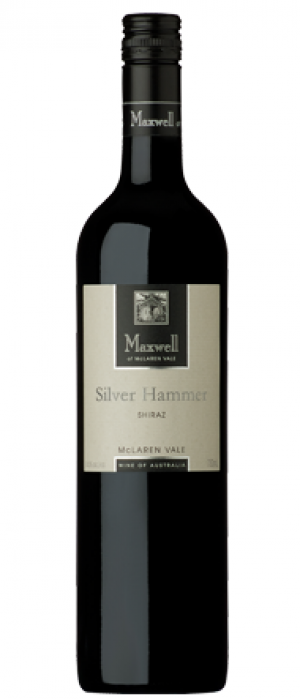 Maxwell Silver Hammer 2014 Shiraz Bottle
