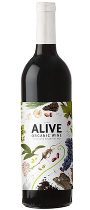 Alive Organic Red Bottle