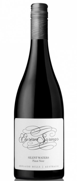 Elysian Springs Silent Waters 2015 Pinot Noir Bottle