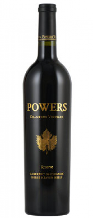 Powers Winery Reserve Cabernet Sauvignon Champoux Vineyard 2013 Bottle