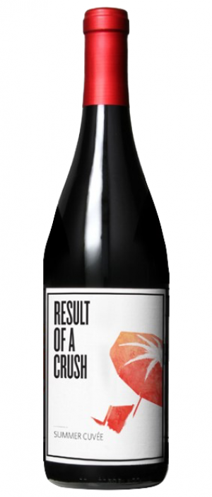Result of a Crush Summer Cuvée 2014 Bottle