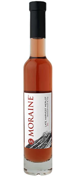 Moraine Late Harvest Merlot 2012 Bottle