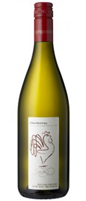 Red Rooster 2012 Chardonnay Bottle