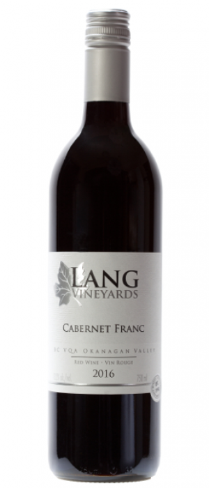 Lang Vineyards 2016 Cabernet Franc Bottle
