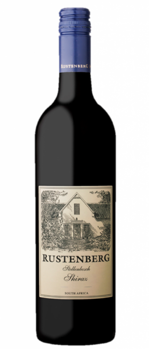 Rustenberg 2014 Stellenbosch Shiraz Bottle