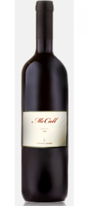 McCall Wines 2009 Merlot Bottle